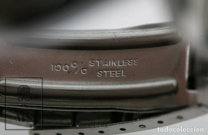 Relojes de pulsera: Reloj de Pulsera para Hombre - Sorienter - Calendar / Calendario / Antimagnetic - Esfera Verde - Foto 7 - 119942555