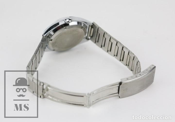 Relojes de pulsera: Reloj de Pulsera para Hombre - Sorienter - Calendar / Calendario / Antimagnetic - Esfera Verde - Foto 8 - 119942555
