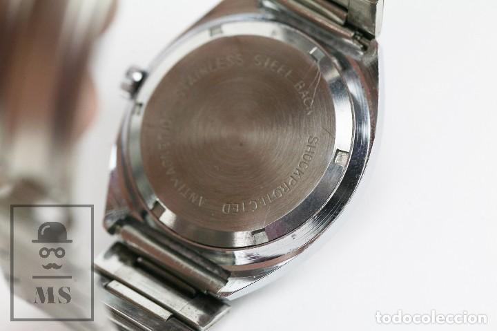 Relojes de pulsera: Reloj de Pulsera para Hombre - Sorienter - Calendar / Calendario / Antimagnetic - Esfera Verde - Foto 9 - 119942555