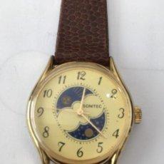 Relojes de pulsera: ANTIGUO RELOJ MANUAL SONITEC LUNAR PROCEDE ALMACEN CERRADO. Lote 120021895