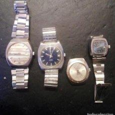 Relojes de pulsera: LOTE DE 4 RELOJES DE CUERDA VEAN FOTOS. Lote 120387307