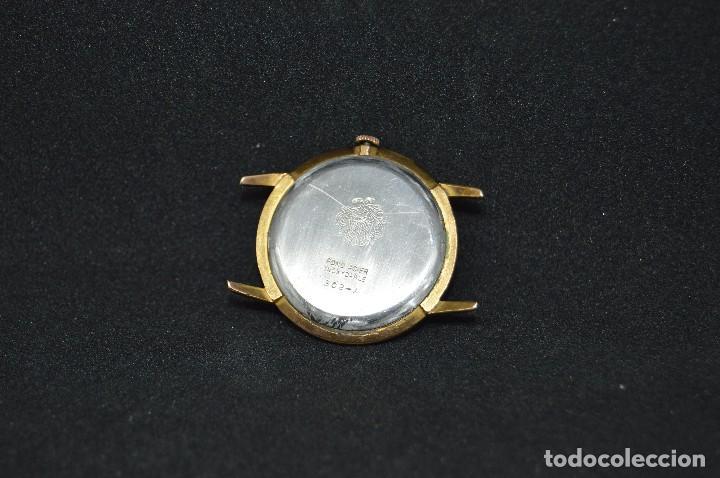 Relojes de pulsera: ANTIGUO - VINTAGE - RELOJ DE PULSERA - DUWARD DIPLOMATIC 302 A - SWISS MADE - SUPER SECURIT SHOCK - Foto 6 - 120409827