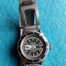 Relojes de pulsera: RELOJ TIPO SUBMARINISTA PARA DAMA. MARCA CROMATIC CALENDAR.. Lote 120683319