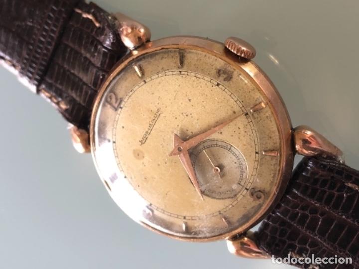 Relojes de pulsera: RELOJ JAEGER LE COULTRE ESTILO DECO CALIBRE 449 CAJA ORO 18 KILATES FINALES AÑOS 30 - Foto 2 - 120714699