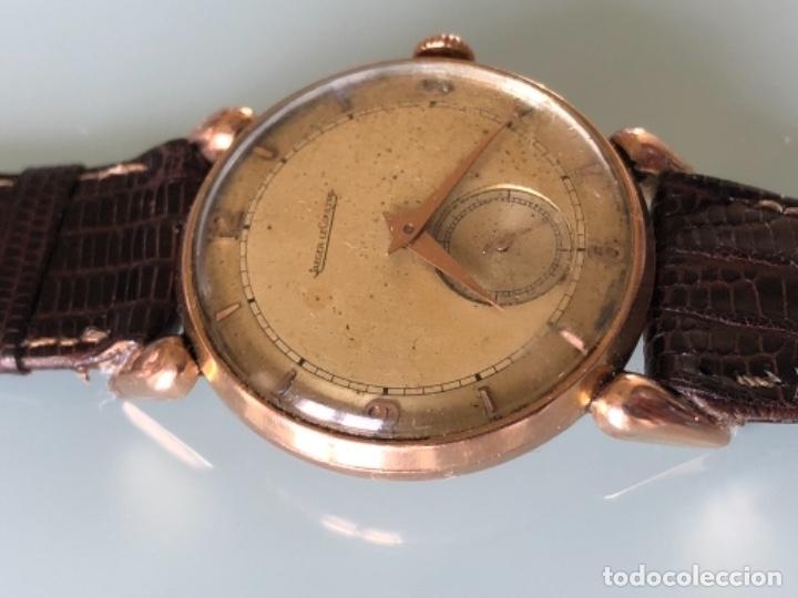 Relojes de pulsera: RELOJ JAEGER LE COULTRE ESTILO DECO CALIBRE 449 CAJA ORO 18 KILATES FINALES AÑOS 30 - Foto 3 - 120714699