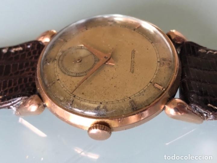 Relojes de pulsera: RELOJ JAEGER LE COULTRE ESTILO DECO CALIBRE 449 CAJA ORO 18 KILATES FINALES AÑOS 30 - Foto 5 - 120714699