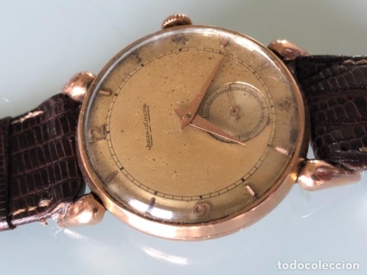 Relojes de pulsera: RELOJ JAEGER LE COULTRE ESTILO DECO CALIBRE 449 CAJA ORO 18 KILATES FINALES AÑOS 30 - Foto 7 - 120714699