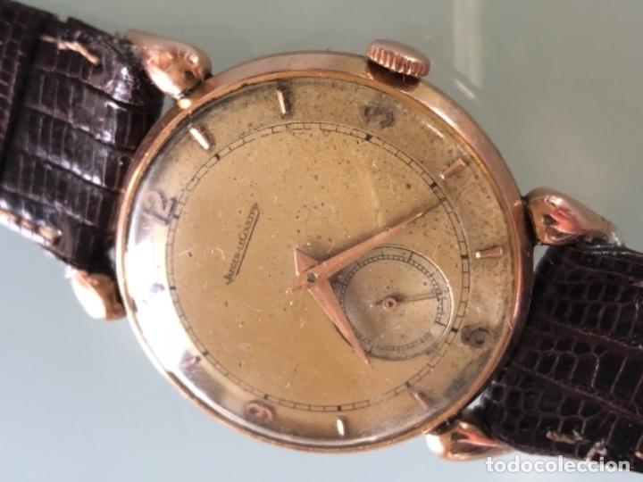 Relojes de pulsera: RELOJ JAEGER LE COULTRE ESTILO DECO CALIBRE 449 CAJA ORO 18 KILATES FINALES AÑOS 30 - Foto 8 - 120714699