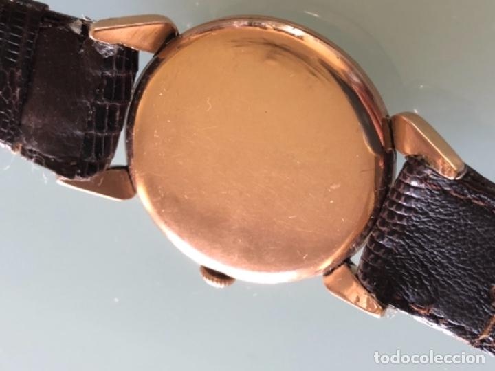 Relojes de pulsera: RELOJ JAEGER LE COULTRE ESTILO DECO CALIBRE 449 CAJA ORO 18 KILATES FINALES AÑOS 30 - Foto 10 - 120714699
