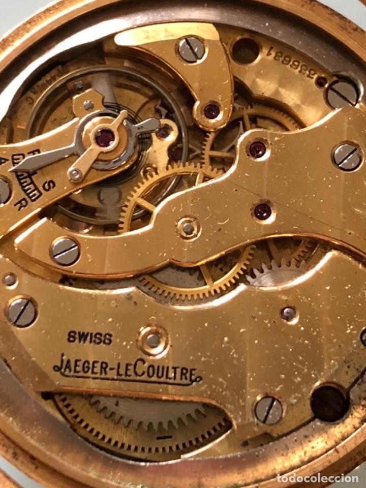 Relojes de pulsera: RELOJ JAEGER LE COULTRE ESTILO DECO CALIBRE 449 CAJA ORO 18 KILATES FINALES AÑOS 30 - Foto 12 - 120714699