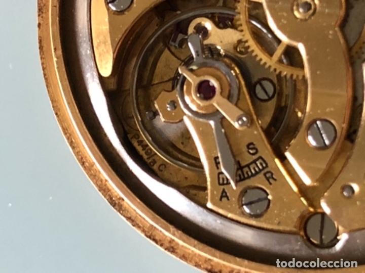 Relojes de pulsera: RELOJ JAEGER LE COULTRE ESTILO DECO CALIBRE 449 CAJA ORO 18 KILATES FINALES AÑOS 30 - Foto 13 - 120714699