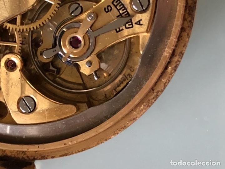 Relojes de pulsera: RELOJ JAEGER LE COULTRE ESTILO DECO CALIBRE 449 CAJA ORO 18 KILATES FINALES AÑOS 30 - Foto 14 - 120714699