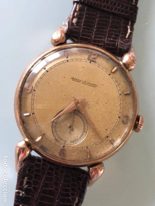 RELOJ JAEGER LE COULTRE ESTILO DECO CALIBRE 449 CAJA ORO 18 KILATES FINALES AÑOS 30 (Relojes - Pulsera Carga Manual)