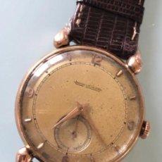 Relojes de pulsera: RELOJ JAEGER LE COULTRE ESTILO DECO CALIBRE 449 CAJA ORO 18 KILATES FINALES AÑOS 30. Lote 120714699