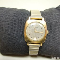 Relojes de pulsera: 918- ANTIGUO RELOJ DE CUERDA THERMIDOR 17 RUBIS SWISS MADE VER DESCRIPCIÓN. Lote 121006599