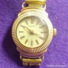Relojes de pulsera: ANTIGUO RELOJ DE ORO 18 KILATES DE PULSERA DAUPHINE. AÑOS 30.EN FUNCIONAMIENTO.SEÑORA.CON CONTRASTE. Lote 121139211