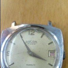 Relojes de pulsera: CURIOSO RELOJ ÓSCAR (NO FUNCIONA) . Lote 121171955