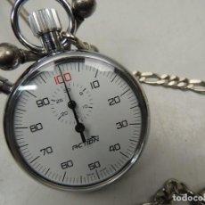 Relojes de pulsera: EXCELENTE VINTAGE CRONOMETRO SUIZO ACTION OBJETO DE COLECCIÓN O USO . Lote 126137404