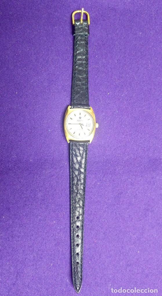 Relojes de pulsera: ANTIGUO RELOJ DE PULSERA ROAMER ANFIBIO. PLAQUE DE ORO. SWISS. EN FUNCIONAMIENTO.SEÑORA - Foto 4 - 121247923