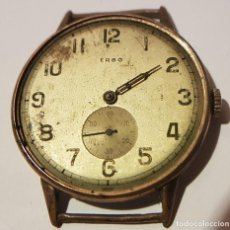 Relojes de pulsera: RELOJ PULSERA ERBO, SUIZO, 15 RUBIS - FALTA MINUTERO, PERO FUNCIONA PERFECTAMENTE. Lote 121345083
