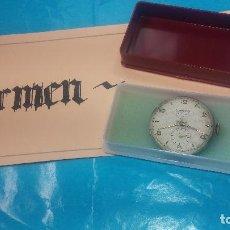 Relojes de pulsera: BOTITA MAQUINARIA DE RELOJ DE CABALLERO LANCO, FUNCIONA MUY BIEN, SOLO LE FALTA LA CAJA Y CRISTAL. Lote 121520455