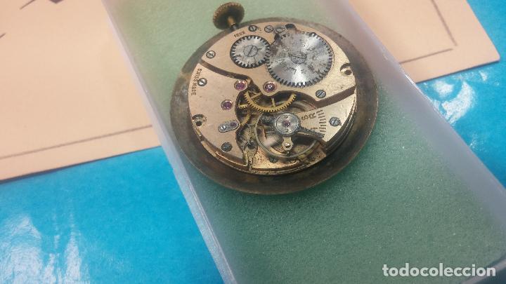 Relojes de pulsera: Botita Maquinaria de reloj de caballero LANCO, funciona muy bien, solo le falta la caja y cristal - Foto 10 - 121520455