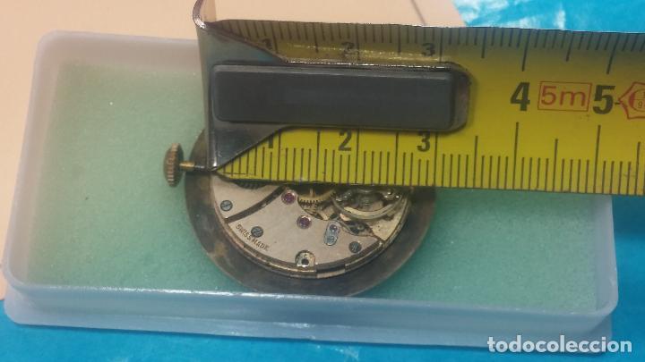Relojes de pulsera: Botita Maquinaria de reloj de caballero LANCO, funciona muy bien, solo le falta la caja y cristal - Foto 16 - 121520455