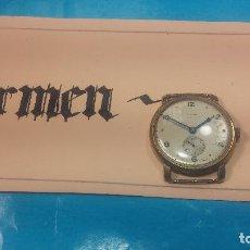 Relojes de pulsera: BOTITO Y MUY ANTIQUE RELOJ TECNA, PARA REPARAR O PIEZAS, CON UNAS LINDAS AGUJITAS AZULADAS. Lote 121532143