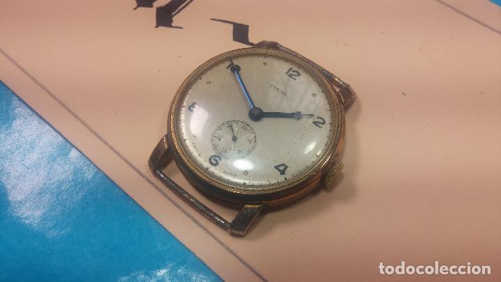 Relojes de pulsera: BOTITO Y MUY ANTIQUE RELOJ TECNA, PARA REPARAR O PIEZAS, CON UNAS LINDAS AGUJITAS AZULADAS - Foto 6 - 121532143