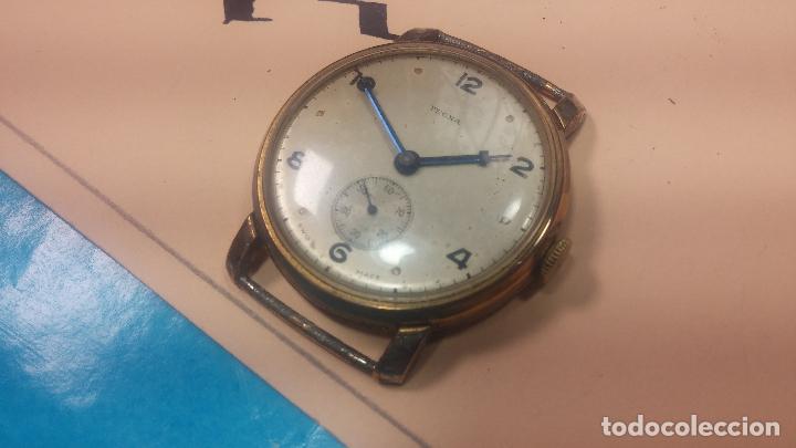 Relojes de pulsera: BOTITO Y MUY ANTIQUE RELOJ TECNA, PARA REPARAR O PIEZAS, CON UNAS LINDAS AGUJITAS AZULADAS - Foto 7 - 121532143