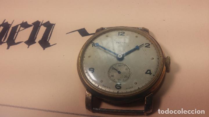 Relojes de pulsera: BOTITO Y MUY ANTIQUE RELOJ TECNA, PARA REPARAR O PIEZAS, CON UNAS LINDAS AGUJITAS AZULADAS - Foto 11 - 121532143