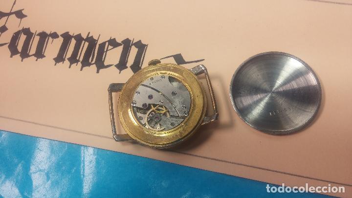 Relojes de pulsera: BOTITO Y MUY ANTIQUE RELOJ TECNA, PARA REPARAR O PIEZAS, CON UNAS LINDAS AGUJITAS AZULADAS - Foto 19 - 121532143