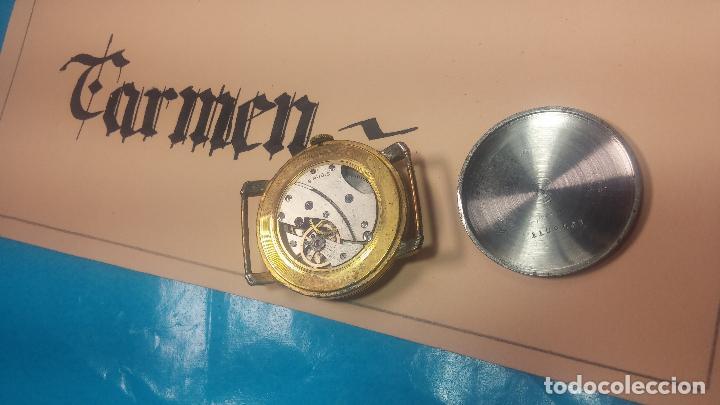Relojes de pulsera: BOTITO Y MUY ANTIQUE RELOJ TECNA, PARA REPARAR O PIEZAS, CON UNAS LINDAS AGUJITAS AZULADAS - Foto 21 - 121532143