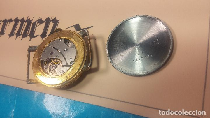 Relojes de pulsera: BOTITO Y MUY ANTIQUE RELOJ TECNA, PARA REPARAR O PIEZAS, CON UNAS LINDAS AGUJITAS AZULADAS - Foto 22 - 121532143