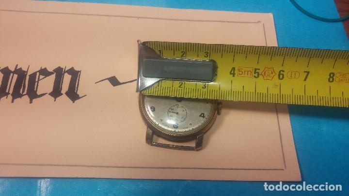Relojes de pulsera: BOTITO Y MUY ANTIQUE RELOJ TECNA, PARA REPARAR O PIEZAS, CON UNAS LINDAS AGUJITAS AZULADAS - Foto 28 - 121532143