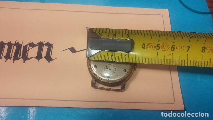Relojes de pulsera: BOTITO Y MUY ANTIQUE RELOJ TECNA, PARA REPARAR O PIEZAS, CON UNAS LINDAS AGUJITAS AZULADAS - Foto 30 - 121532143