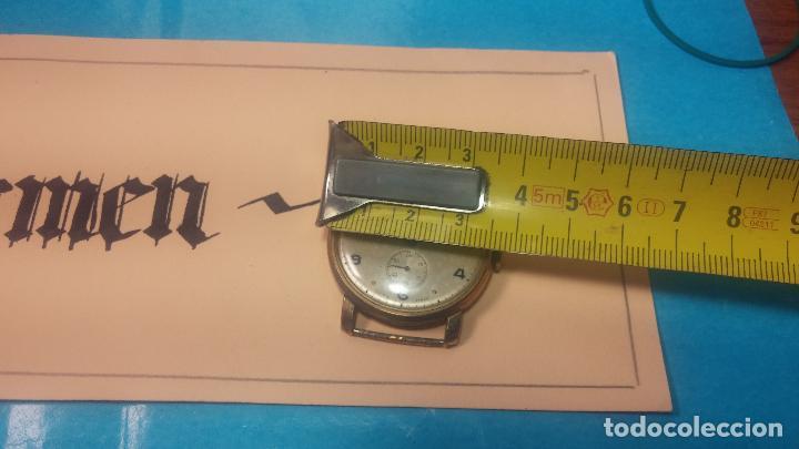 Relojes de pulsera: BOTITO Y MUY ANTIQUE RELOJ TECNA, PARA REPARAR O PIEZAS, CON UNAS LINDAS AGUJITAS AZULADAS - Foto 32 - 121532143