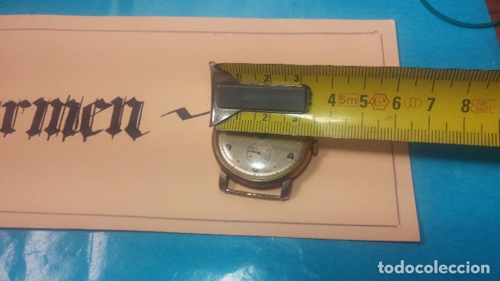 Relojes de pulsera: BOTITO Y MUY ANTIQUE RELOJ TECNA, PARA REPARAR O PIEZAS, CON UNAS LINDAS AGUJITAS AZULADAS - Foto 34 - 121532143