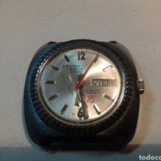 Relojes de pulsera: RELOJ CAUNY MATIC.SWISS.INCABLOC.PRIMA.CABALLERO.FUNCIONA. Lote 121815310