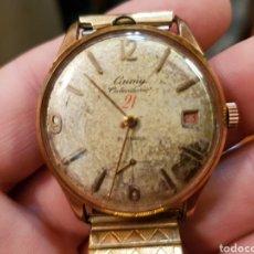 Relojes de pulsera: ANTIGUO RELOJ DE CUERDA CAUNY PRIMA 21 RUBIS FUNCIONANDO GRANDE. Lote 121952384