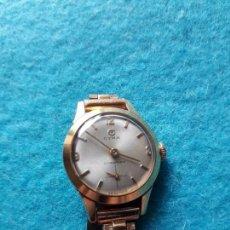 Relojes de pulsera: RELOJ MARCA CYMA CYMAFLEX. CLÁSICO DE DAMA. CHAPADO EN ORO.. Lote 122003895