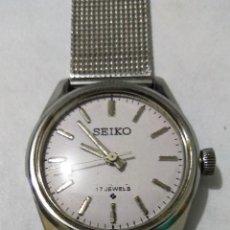 Relojes de pulsera: RELOJ SEIKO HOMBRE VINTAGE CARGA MANUAL AÑOS 60 LIMPIADO Y AJUSTADO. Lote 122047923