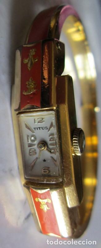 TITUS / /SOLVIL- GENEVE- AÑOS 60- NECESITA PUESTA A PUNTO (Relojes - Pulsera Carga Manual)