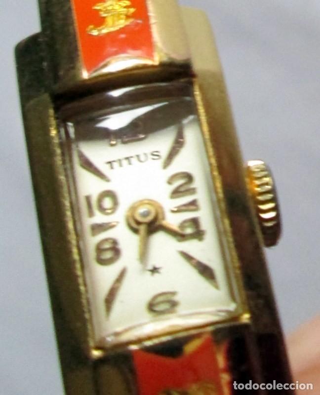 Relojes de pulsera: TITUS / /SOLVIL- GENEVE- AÑOS 60- NECESITA PUESTA A PUNTO - Foto 4 - 122076623