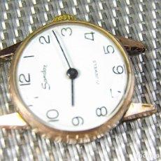 Relojes de pulsera: ORIGINAL SANDOZ ALTA GAMA CHAPADO EN ORO AÑOS 50 INCREIBLE ESTADO LOTE WATCHES. Lote 122098435