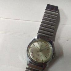 Relojes de pulsera: RELOJ VINTAGE EDOX 17 JEWELS INCABLOC DE MUJER FUNCIONANDO. Lote 122546155