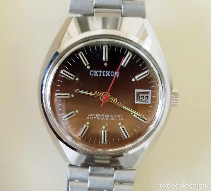 Relojes de pulsera: CETIKON DE CUERDA VINTAGE, C1970 NOS (NEW OLD STOCK) - Foto 2 - 155985236
