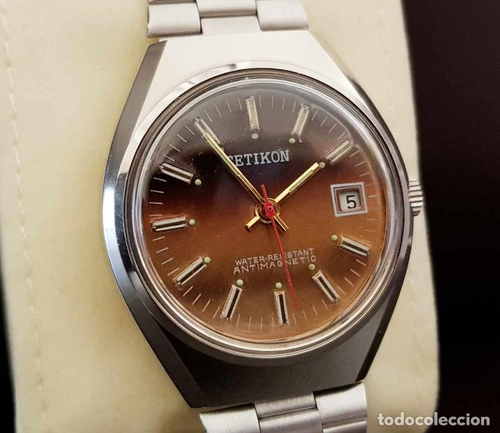 Relojes de pulsera: CETIKON DE CUERDA VINTAGE, C1970 NOS (NEW OLD STOCK) - Foto 3 - 155985236