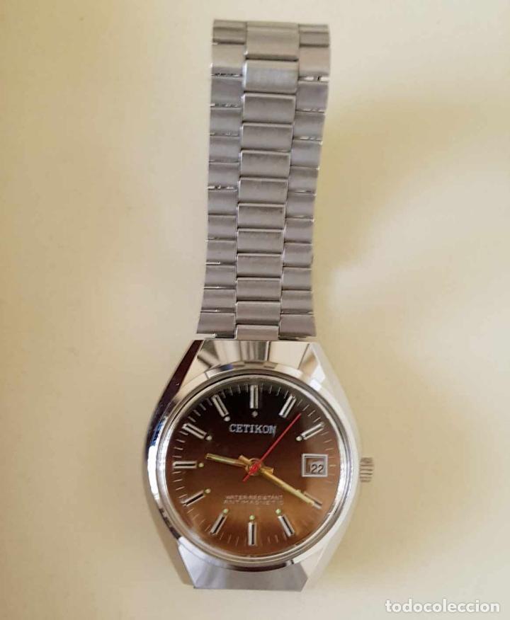 Relojes de pulsera: CETIKON DE CUERDA VINTAGE, C1970 NOS (NEW OLD STOCK) - Foto 6 - 155985236