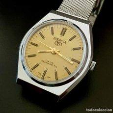 Relojes de pulsera: BIERINA 5 DE CUERDA VINTAGE, C1970 NOS (NEW OLD STOCK). Lote 122567915